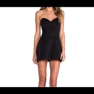 Boulee Ivy Dress 0 Extra Small XS Black New